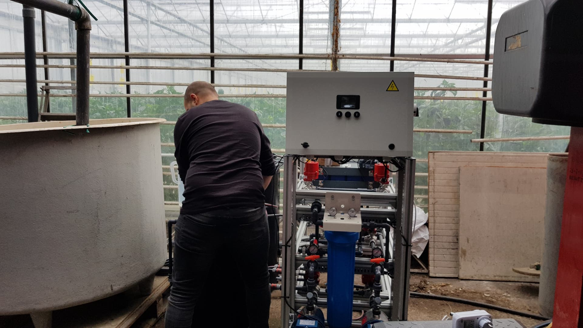 Natrium verwijdering uit drainwater – Paprikakas